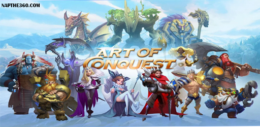 nạp thẻ art of conquest