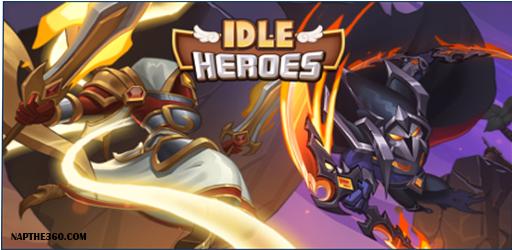 nạp thẻ idle heroes