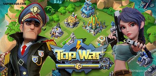 nạp thẻ top war battle game
