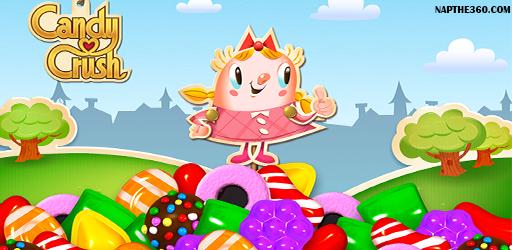 nạp thẻ candy crush saga