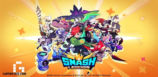 nạp thẻ smash legends