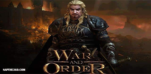 nạp thẻ War and Order